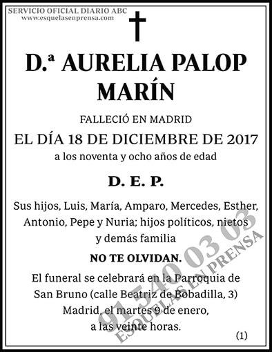 Aurelia Palop Marín